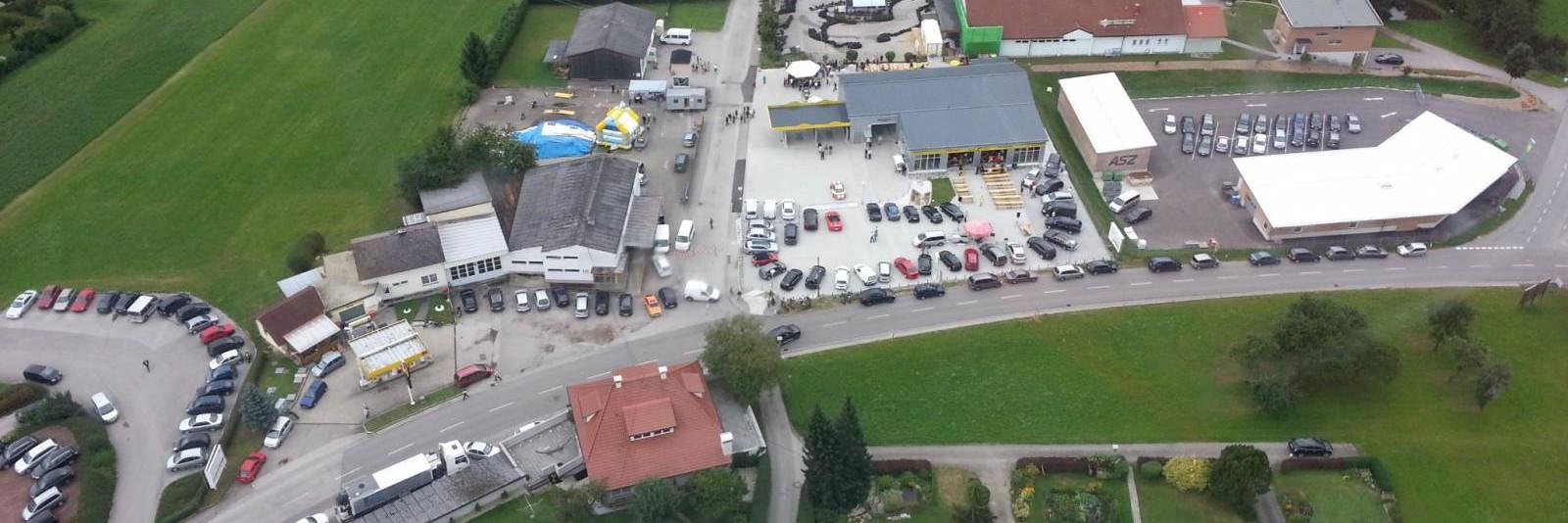 Hofkirchen Luftaufnahme